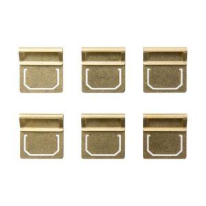 Midori Brass Index Clip